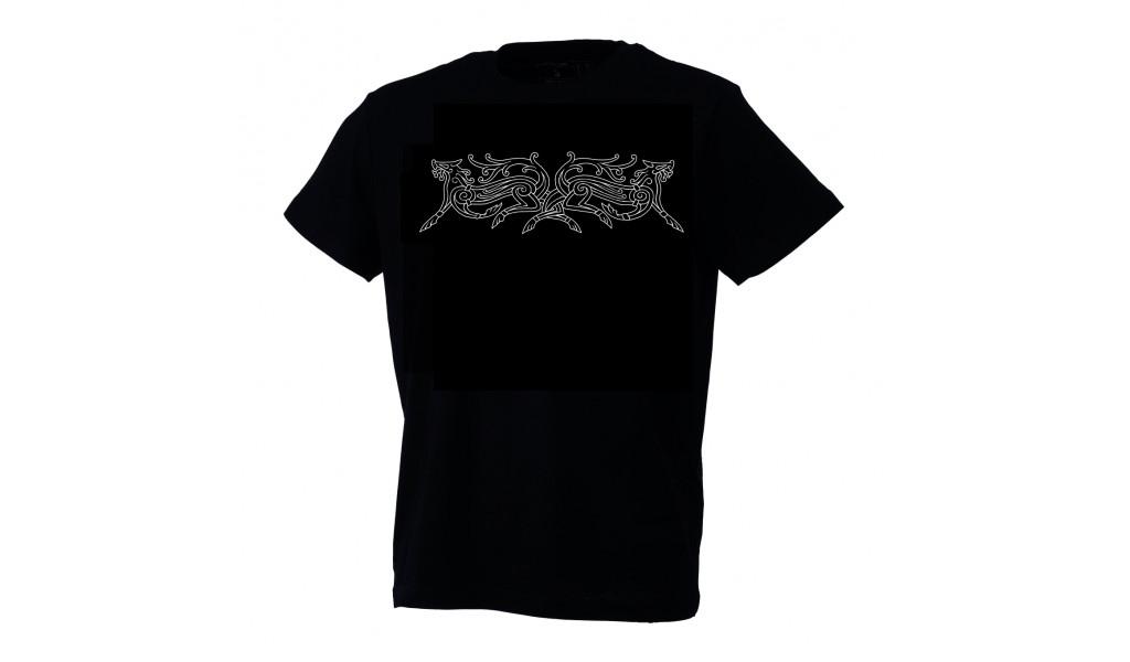 Geri og Freki T-shirt by Ian Ibæk Møller