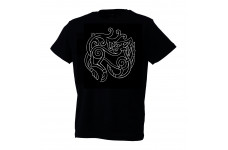 Black Fenris Wolf T-shirt