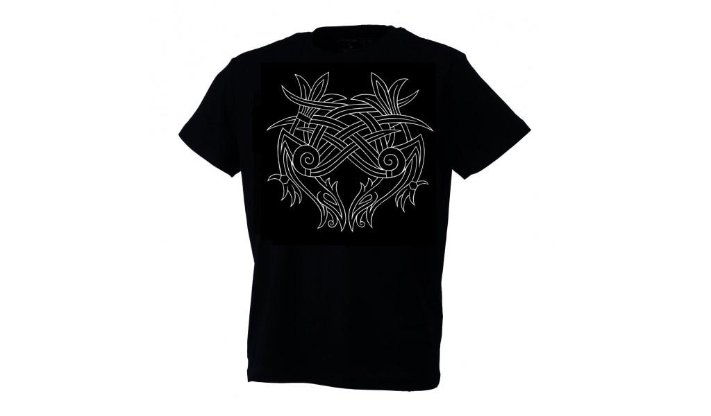 Hugin & Munin T-shirt by Ian Ibæk Møller