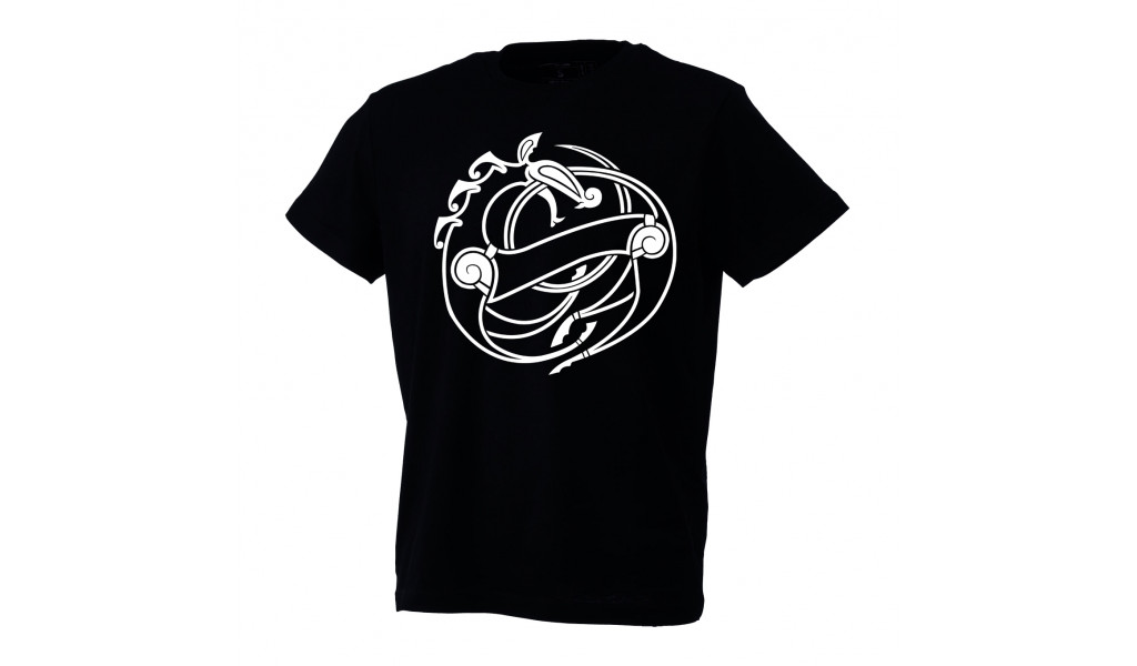 Urnes style t-shirt by Ian Ibæk Møller